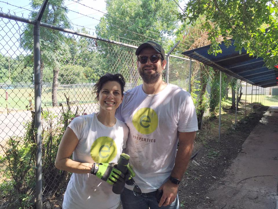 Austin Real Estate team giving back at Town Lake animal shelter